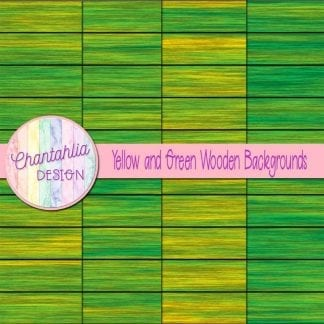 yellow and green wooden backgrounds