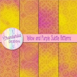 yellow and purple subtle patterns
