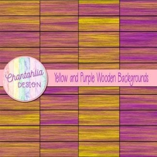 yellow and purple wooden backgrounds