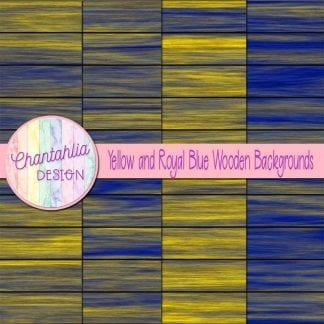 yellow and royal blue wooden backgrounds
