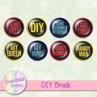 digital brads in a diy theme
