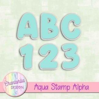 aqua stamp alpha