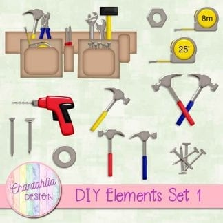 free design elements in a DIY theme