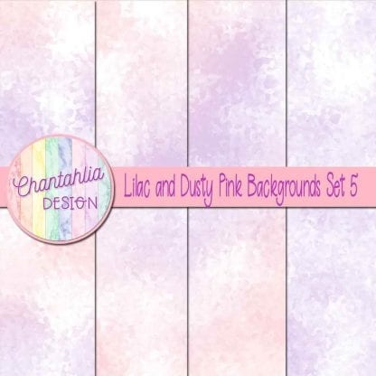 lilac and dusty pink digital paper backgrounds