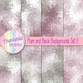 plum and black digital paper backgrounds