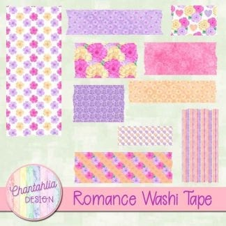romance washi tape