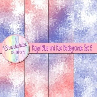 royal blue and red digital paper backgrounds