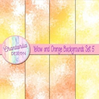 yellow and orange digital paper background