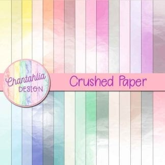 crushed paper digital paper