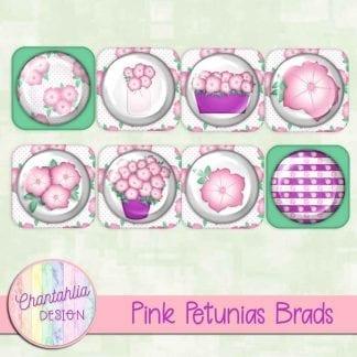 Free pink petunias brads