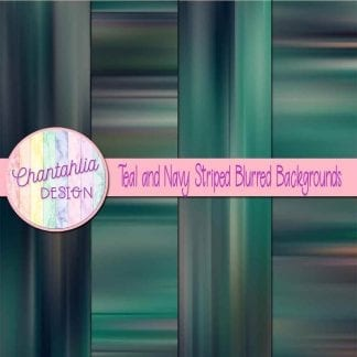 free teal and navy striped blurred backgrounds
