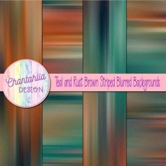 free teal and rust brown striped blurred backgrounds