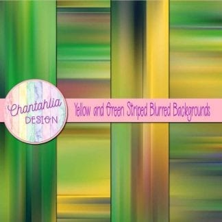free yellow and green striped blurred backgrounds