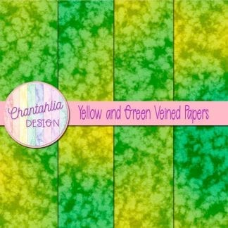 free yellow and green veined papers
