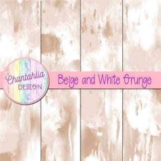 Free beige and white grunge digital papers