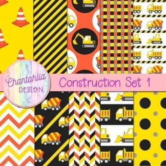 free roadworks construction digital papers
