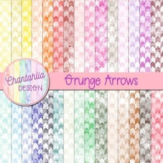 grunge arrows digital papers