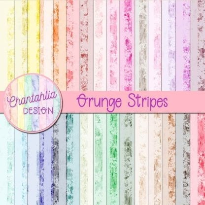 Free grunge stripes digital papers