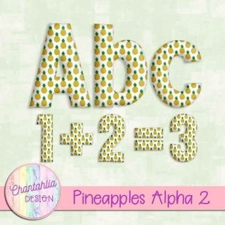 Free alpha in a Pineapples theme.