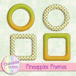 Free frames in a Pineapples theme