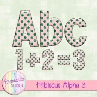 Free alpha in a Hibiscus theme