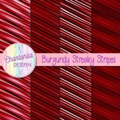 free burgundy streaky stripes digital papers