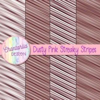 free dusty pink streaky stripes digital papers