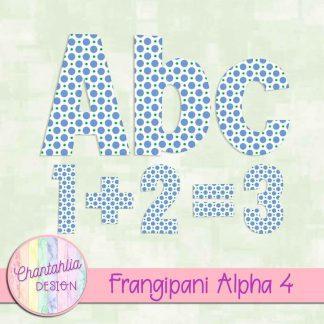 Free alpha in a Frangipani theme