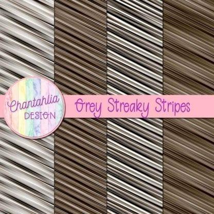 free grey streaky stripes digital papers