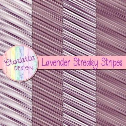 free lavender streaky stripes digital papers