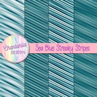 free sea blue streaky stripes digital papers