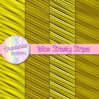 free yellow streaky stripes digital papers