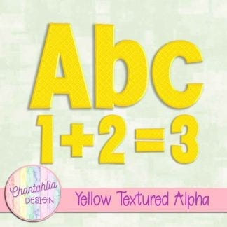 Free yellow textured alpha