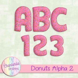Free alpha in a Donuts theme