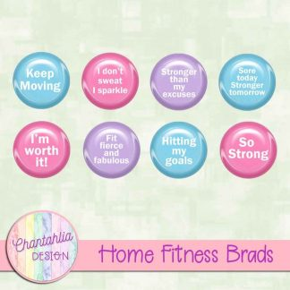 Free brads in a Home Fitness theme
