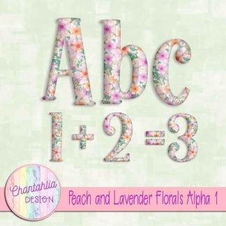 Free alpha in a Peach and Lavender Florals theme