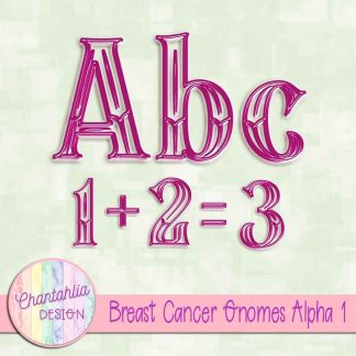 Free alpha in a Breast Cancer Gnomes theme